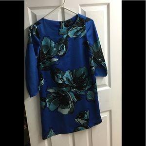 Limited Silk Shift Dress XS